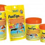 Fische Fütterung mit Tetra FunTips