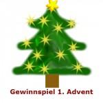 Advent Gewinnspiele – Gewinnspiel 1. Advent