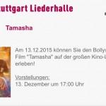 CinemaxX präsentiert Tamasha