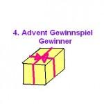 Gewinner 4. Advent Gewinnspiel