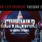 Civil War Europa Premiere in London