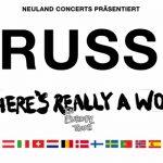 Russ für 3 Konzerte in Deutschland